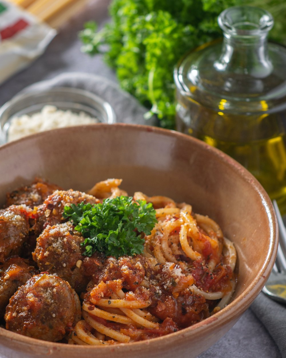 En italiensk restaurang ger en smak av Italien